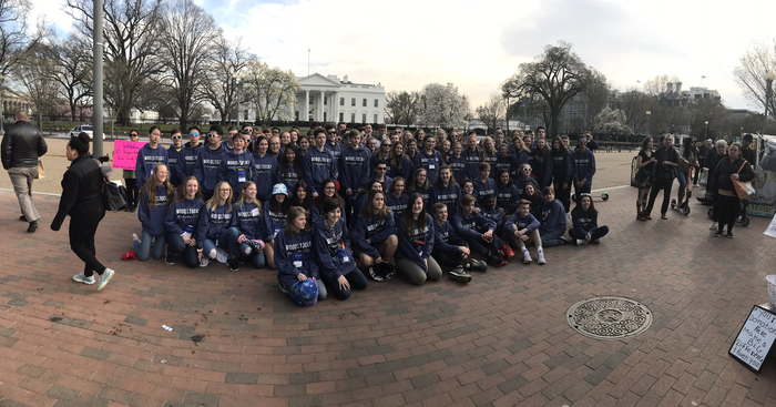 WMS Class of 2019 in DC!