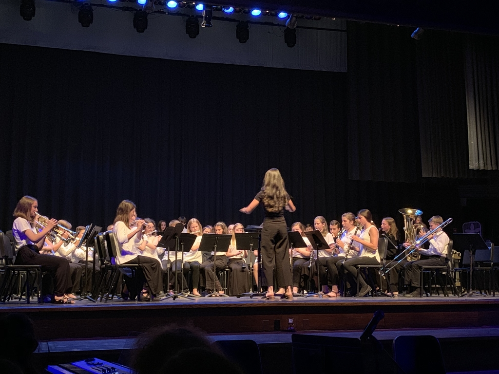 Spring Band and Chorus Concert 2019!